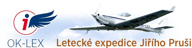 Letecké expedice Jiřího Pruši