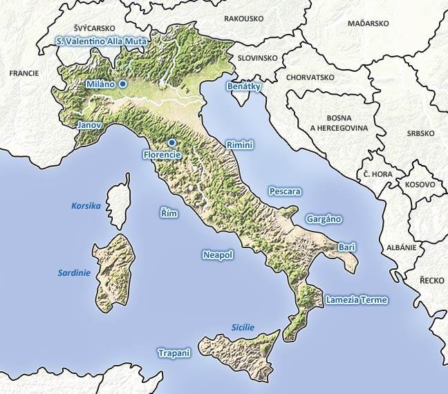Počasí v itálii