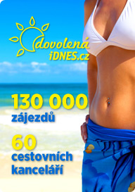 Dovolená.iDNES.cz - 130.000 zájezdů, 60 cestovních kanceláří