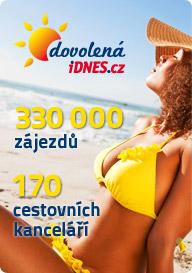 Dovolen�.iDNES.cz - 330.000 z�jezd�, 170 cestovn�ch kancel���