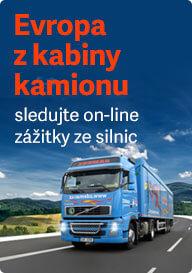 Kamionem přes Evropu
