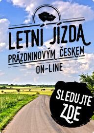 Letní jízda prázdninovým Českem
