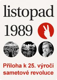 Příloha k 25. výročí sametové revoluce